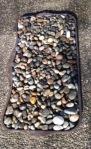 Stones in mat